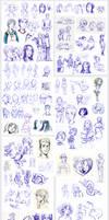 dump LXIII - ballpoint pen sketches by Ni-nig