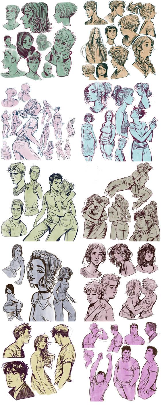 dump 91: procreate sketches