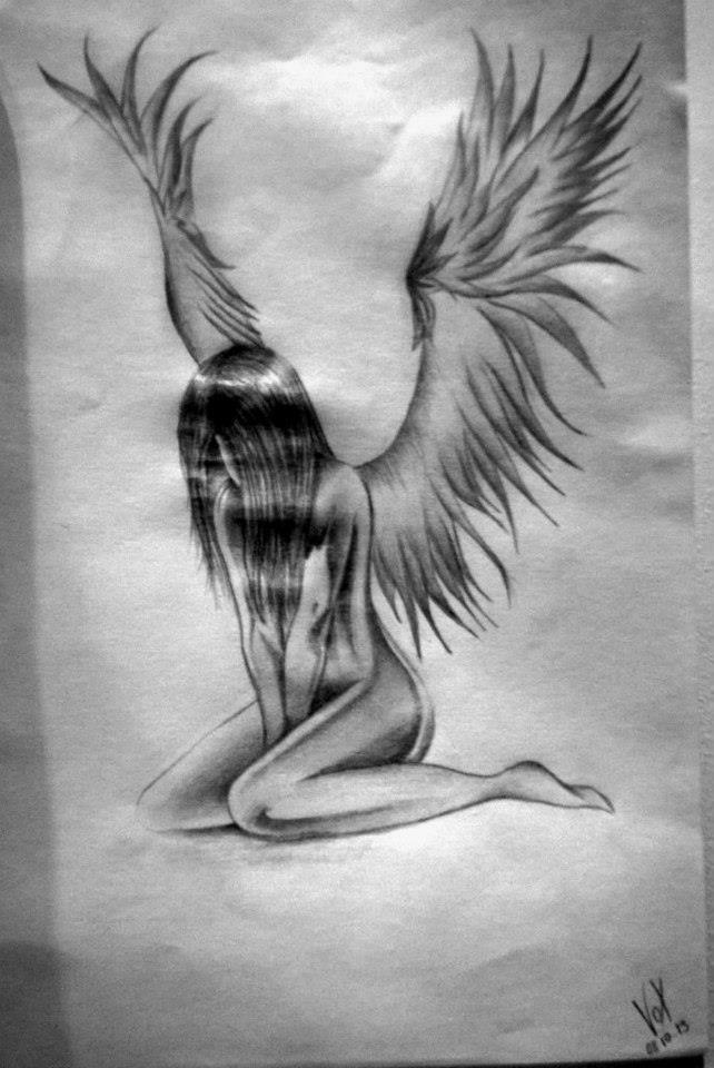 Fallen angel by vox draw on deviantart fallen angel by vox draw thecheapjerseys Choice Image