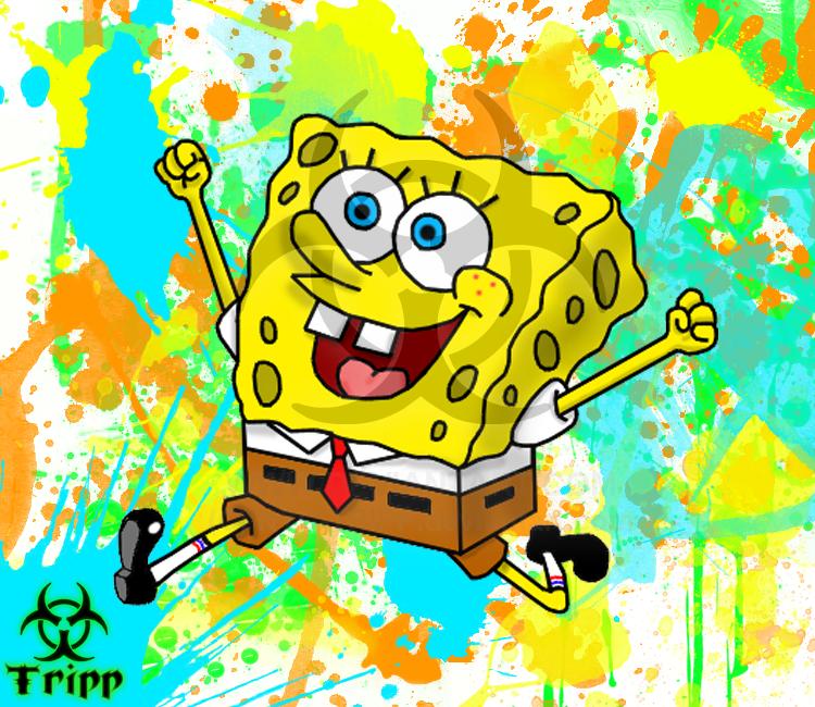 spongebob squarepants by Tripp-X-Foxx