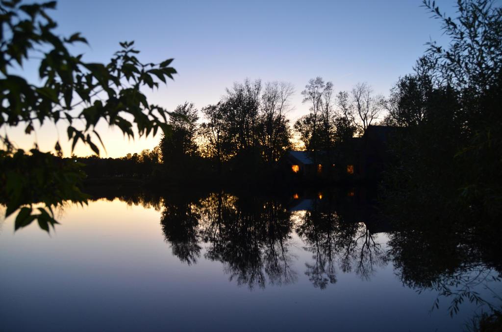 Potsdam - Raquette River Silhouette #2 by pencildragon