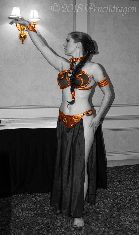 Liana K as Leia 2 (Color Selection) by pencildragon