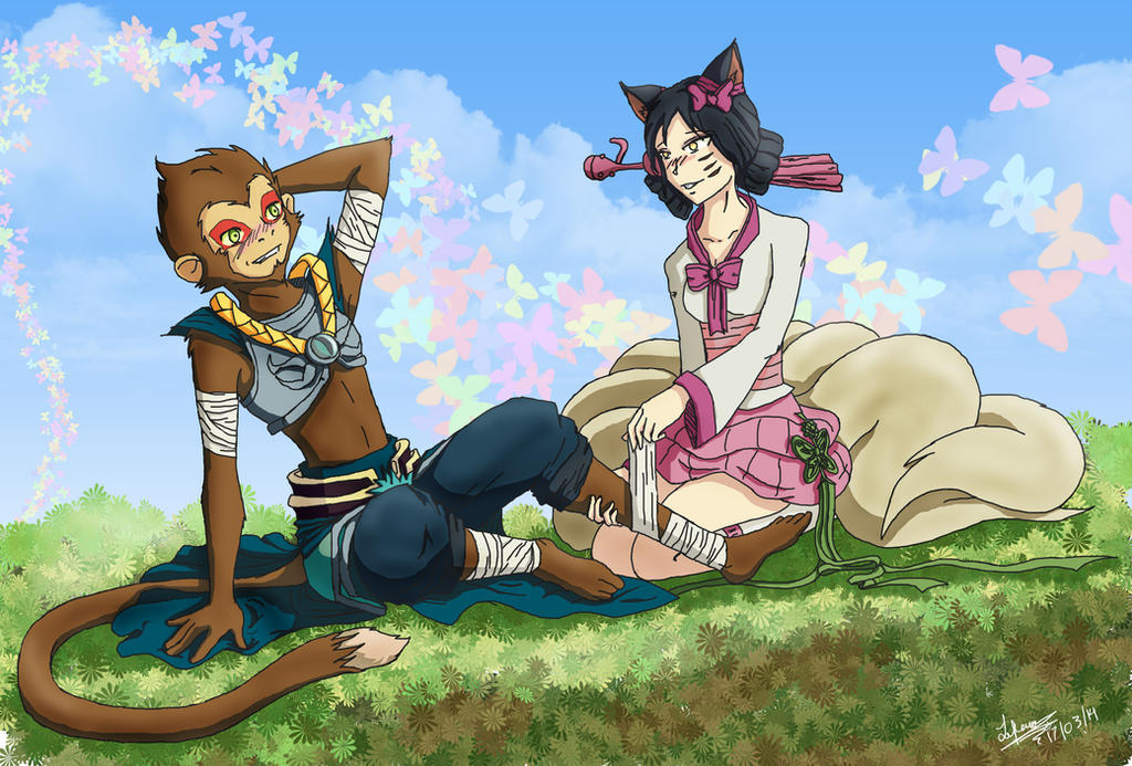 wukong and ahri relationship help
