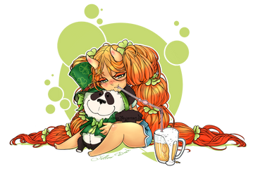 St. Patrick's Day devil ADOPT [CLOSED] by Yellow-adoptables