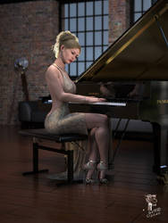 By the Piano