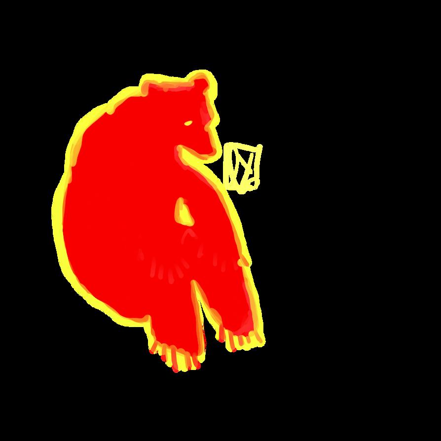 woah bear by lydkid