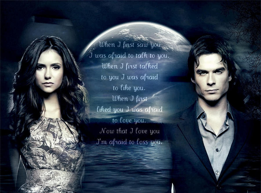 Damon und Elena von De...