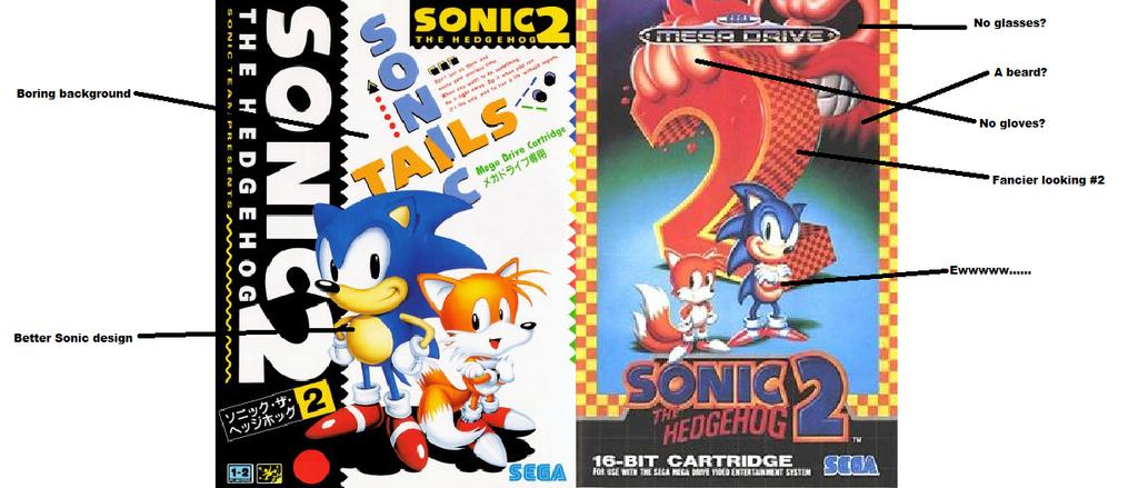 Image - Sonic-2-cover-art.jpg | Sonic News Network | Fandom ...