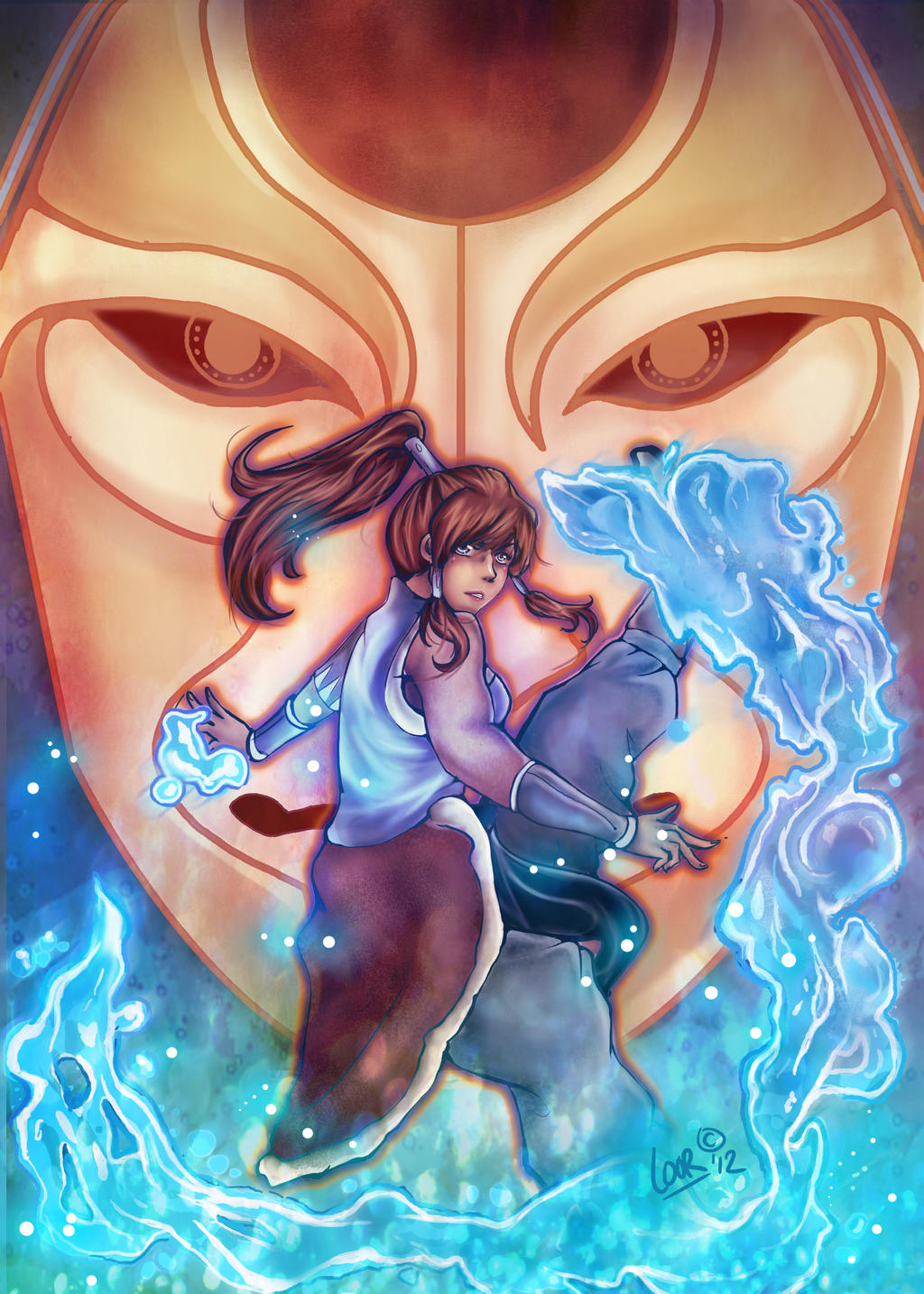 The Legend of Korra by Loorae