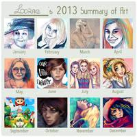 2013 Summary of art by Folkloor