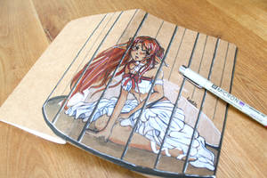 Asuna SAO [Custom Notebook] by Folkloor
