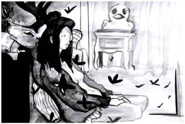 Art school drawing I by Folkloor