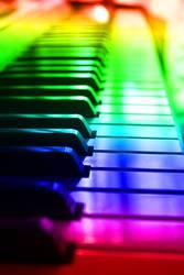 Rainbow Music by Gunkly