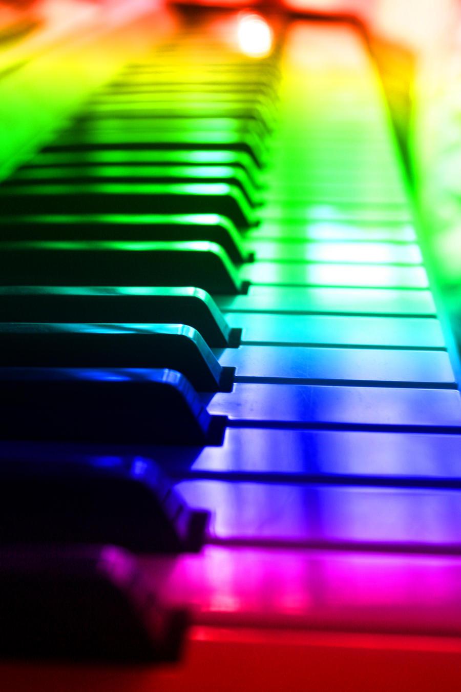 rainbow music by gunkly on deviantart