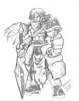 Warrior by DOUGLASDRACO