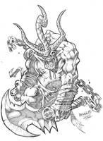 Demon swordsman by DOUGLASDRACO