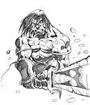 barbarian in action