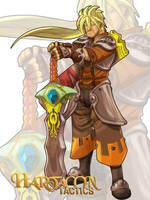 Hartacon Tactics_Swordman by DOUGLASDRACO
