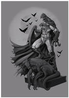 Batman by DOUGLASDRACO