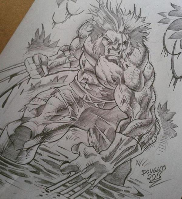 Savage Wolverine by DOUGLASDRACO