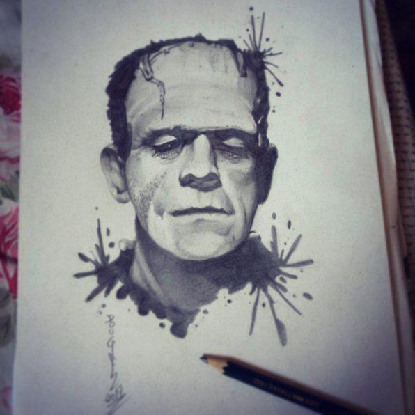 Frankenstein by DOUGLASDRACO