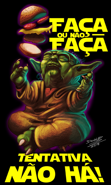Yoda Douglas Draco by DOUGLASDRACO