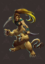 Dreamt up games Lamia by DOUGLASDRACO