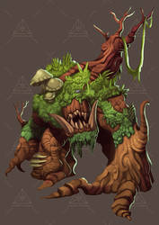 Dreamt up games Shambling mound by DOUGLASDRACO