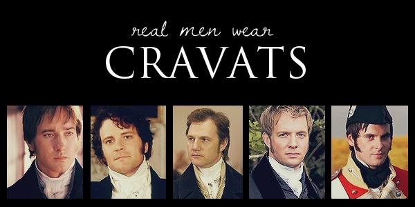 Real Men Wear Cravats by mybeckett