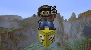 Minecraft Mario PixelArt n.1