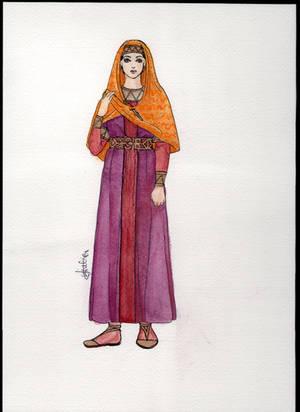 Merovingian Queen