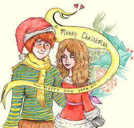 A very weasley christmas! by Eveliien