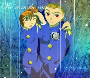 We're in the rain by 666azarashi666