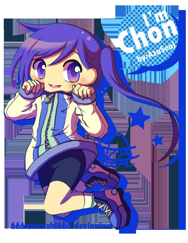 OC - Chon by 666azarashi666