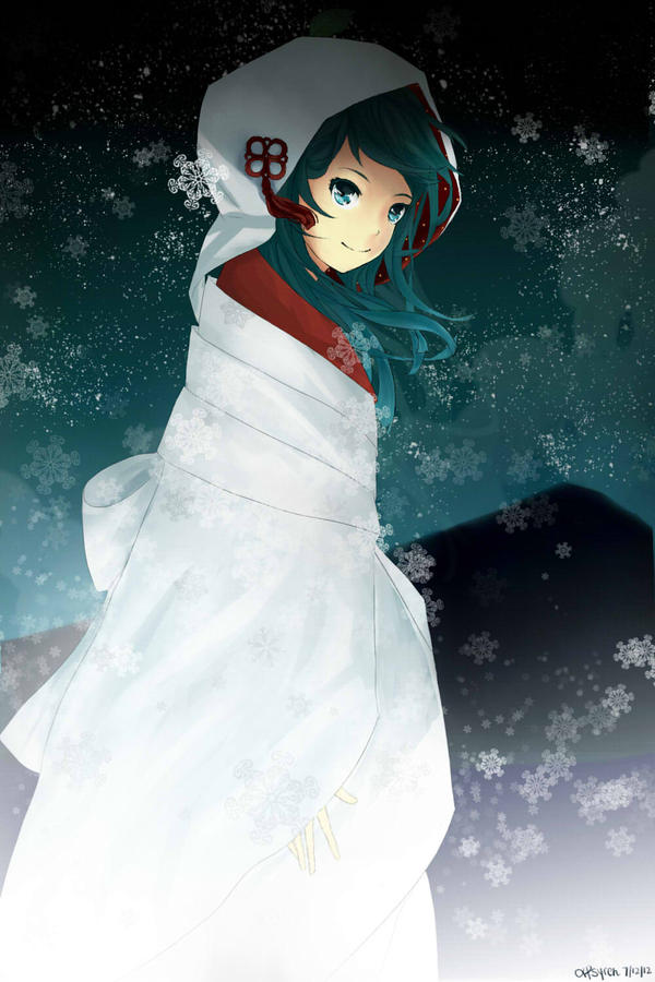 2013 Winter Miku by xPsyren