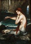Mermaid based on Waterhouse painting