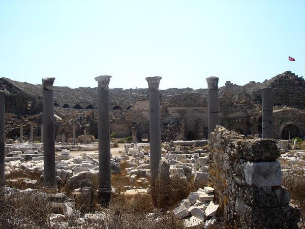 antik side tiyatrosu by MorGuzeldir