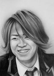 Kamenashi Kazuya by jennieannie