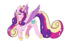 Princess Cadence - Pixel by Akemiarts1