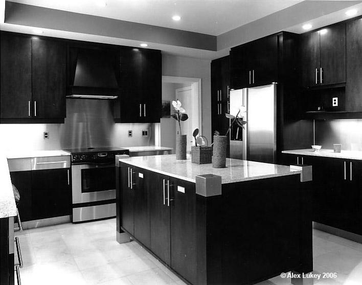 Interior kitchen at Findlay Cr