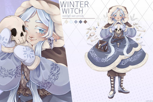 [Open] Winter Witch [Adopt SetPrice]