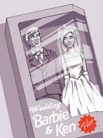 Wedding Dream Barbie ...+Groom by Flyler