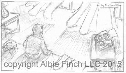 Albie's Curtainssm by Flyler