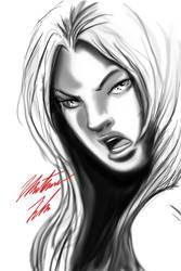 Girl Sketch by Flyler