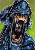 339. Alien Queen by Christopher-Manuel
