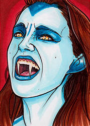 Natalie Portman Vampire by Christopher-Manuel