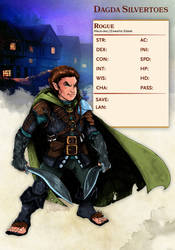 Halfling Rogue by Christopher-Manuel