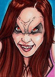 Laci J Mailey Vampire by Christopher-Manuel