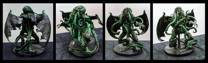 Cthulhu Scuplture by Christopher-Manuel
