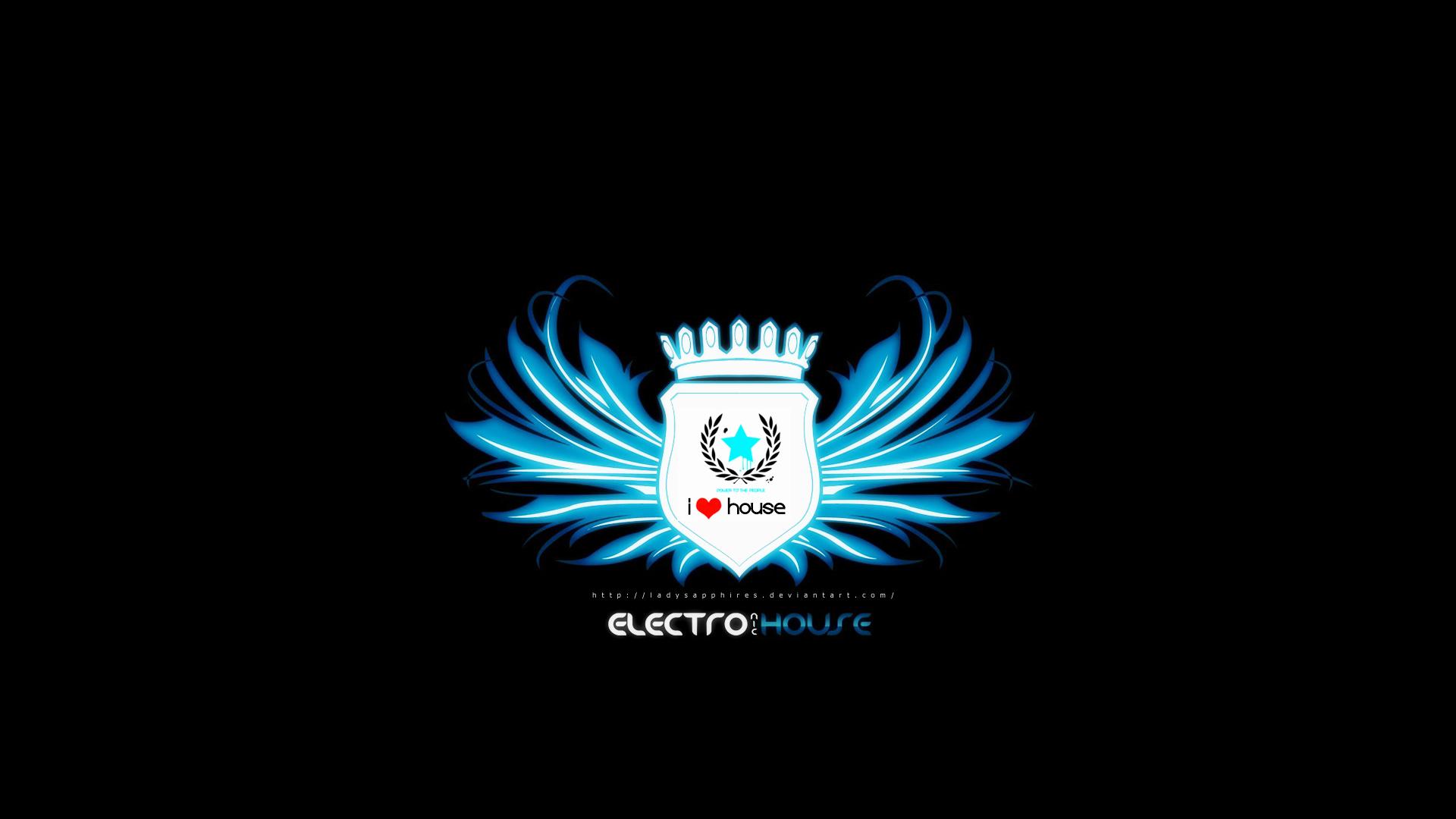 Electro music wallpaper 161194 for House music art